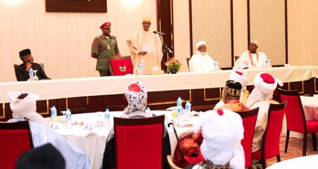 Buhari appeals to Governors to pay salaries and pension