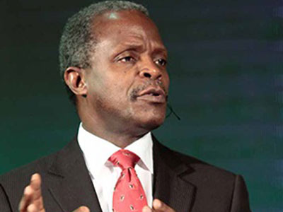 Osinbajo berates clergymen for being preoccupied with prosperity