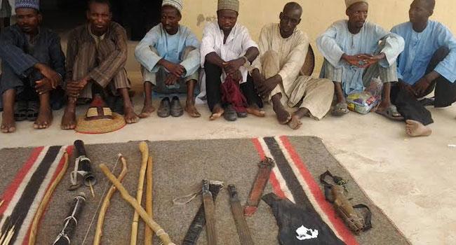 Yobe Police Parade Seven Robbery Suspects
