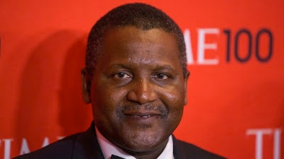 Dangote ranked 66th most powerful person on earth