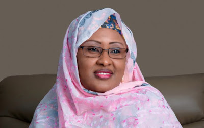 Ben Bruce hails Aisha Buhari as an intelligent woman that has the capacity to lead