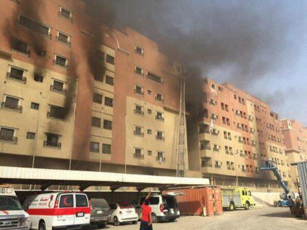 Nigerian dies in Saudi residential estate fire