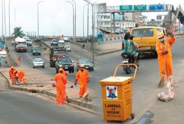 Lagos sweepers protest delayed salaries