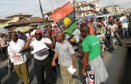 Arrested publisher of Biafra Times says he loves Nigeria