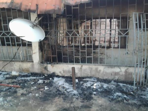 Imo Deputy Governor's house razed by fire