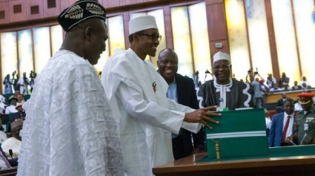 Presidency confirms receipt of 2018 budget