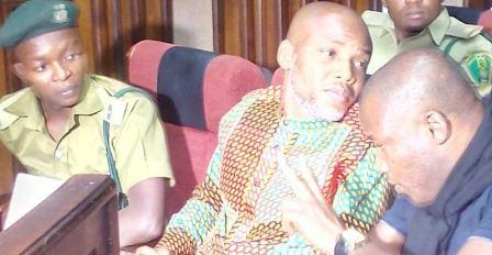 FG re-arraigns Chimezie, 3 other co-defendants of Nnamdi Kanu