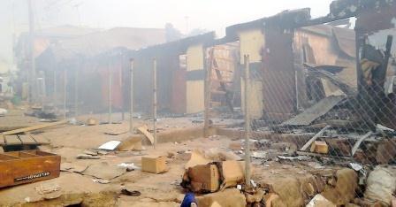 Kara Market in Edo razed by fire