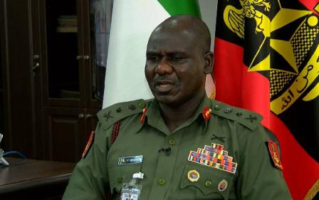 Buratai approves special promotion for 3,729 soldiers