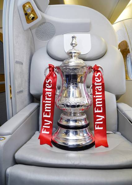 Emirates FA Cup semi-final draw