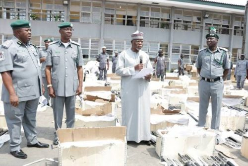 FIRST TIME EVER! Customs generates N1trn revenue in 2017