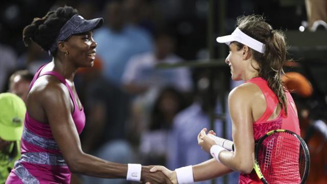 TENNIS: Konta defeats Venus to reach Miami final