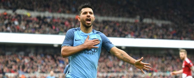 Sergio Aguero out for weeks after Amsterdam accident
