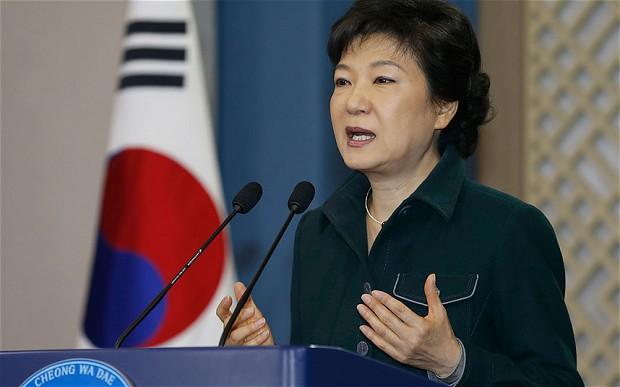 Park, former Korean president arrested and jailed