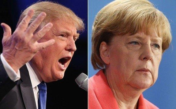"German Chancellor warns Trump not to ""destroy"" the UN"
