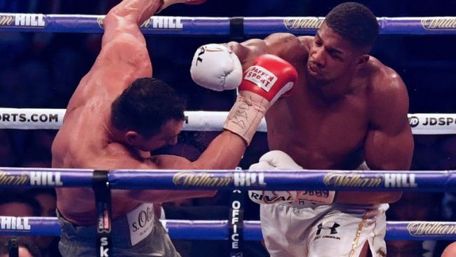Anthony Joshua edges Klitschko in the 11th round of epic Wembley fight