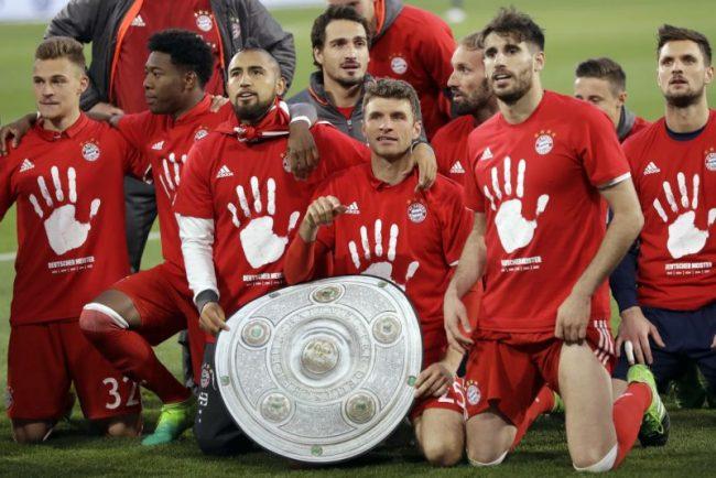 Bayern Munich wins 5th straight Bundelisga title