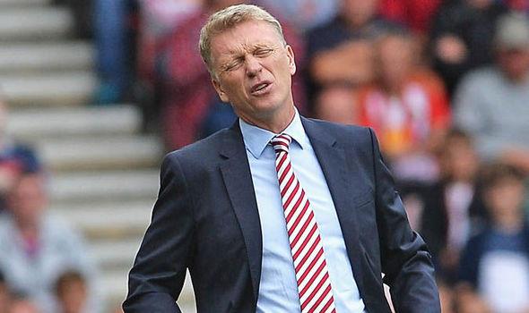 David Moyes' Sunderland relegated