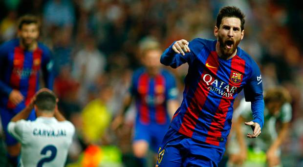 Messi scores 500th goal against madrid
