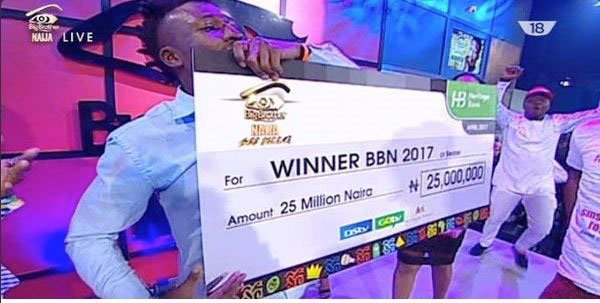 Efe wins Big Brother Naija finale, Bisola wins One Campaign