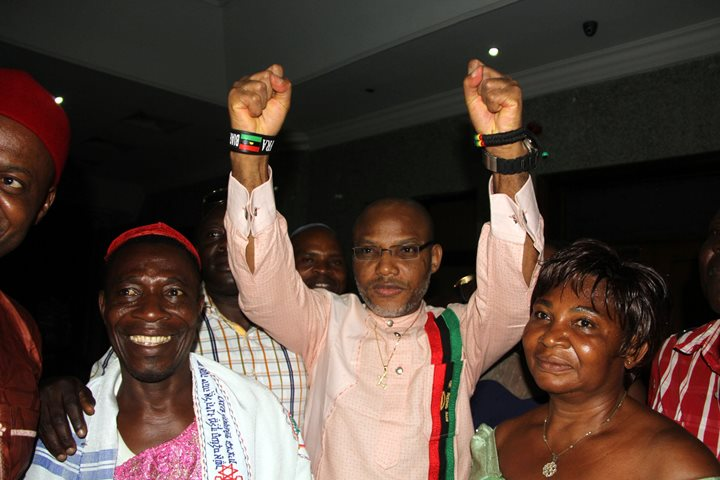 Nnamdi Kanu meets bail condition, released