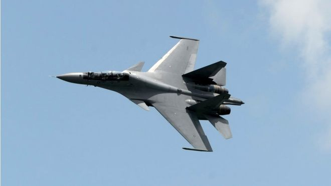 Two Chinese war planes intercept U.S. aircraft