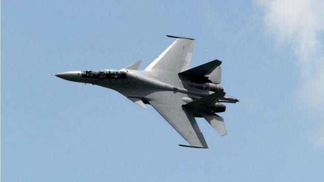 Two Chinese war planes intercept U.S. aircraft