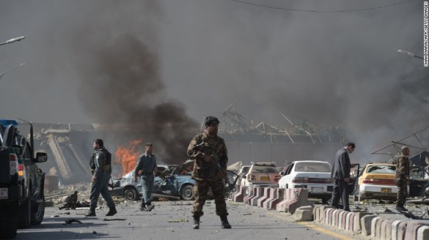 More than 50 killed as suicide bomber hit Kabul