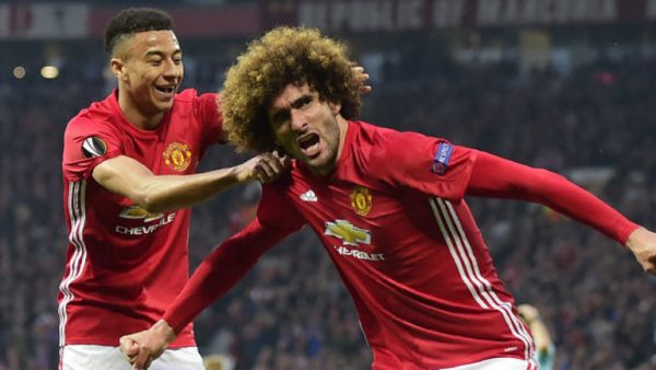Fellaini heads Utd into Europa League final