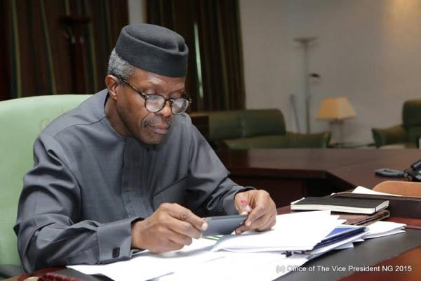Osinbajo admits approving NNPC contracts