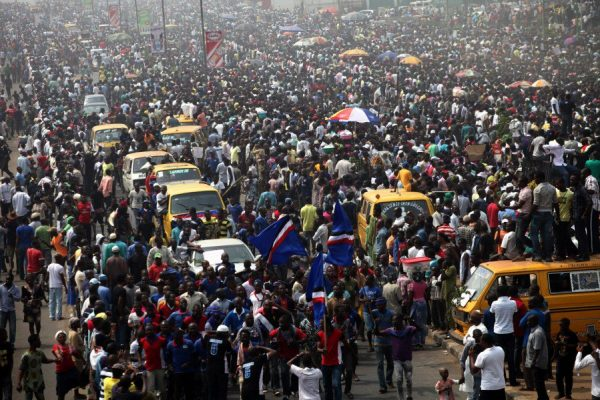 BLESSING OR TROUBLE? Nigeria's population to go up by 189 million between 2018 and 2050
