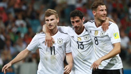 Confederations Cup: Germany thrash Mexico 4-1, to meet Chile in final