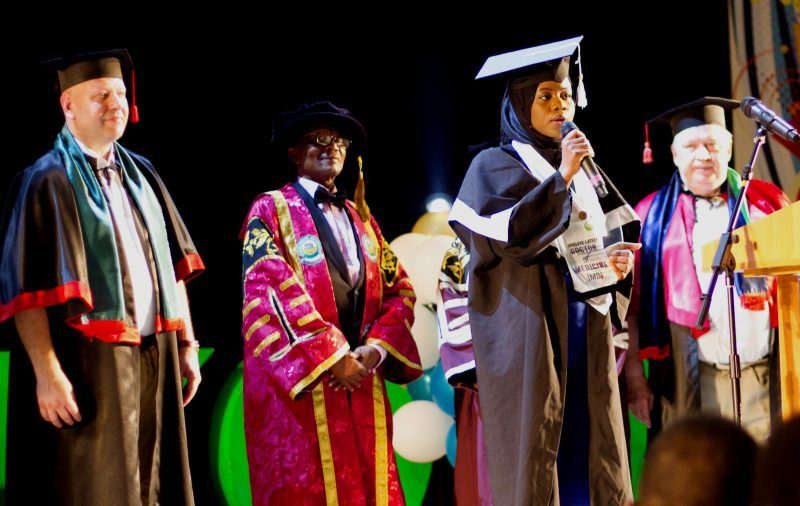 Nigerian emerges overall Best graduating student in Ukrainian university, 49 others from shine