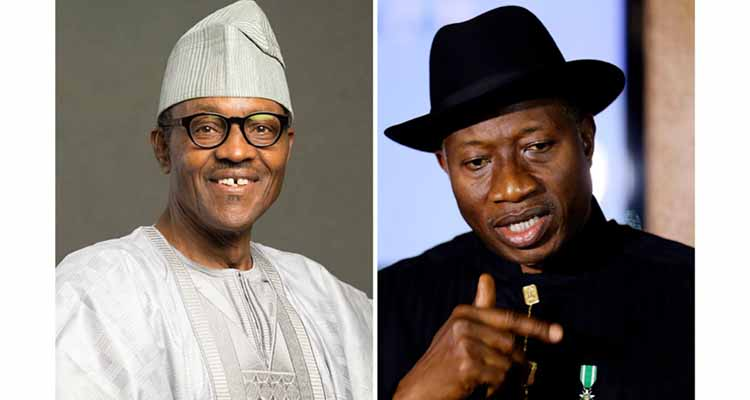Jonathan warns Buhari: If you use your powers negatively, posterity will haunt you