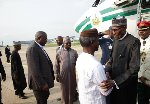 "Osinbajo's ""position is threatened"" – Buhari"