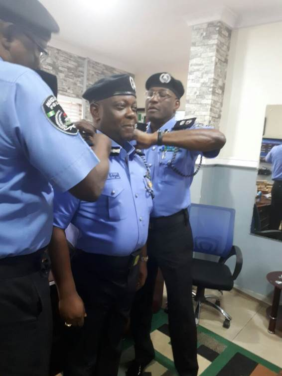 PHOTOS: New Lagos police commissioner Imohimi officially replaces Owoseni