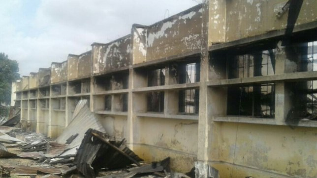 Plateau Polytechnic shuts down campus over fire that engulfed female hostel