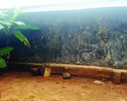 Image of Badoo Shrine obtained from Punch