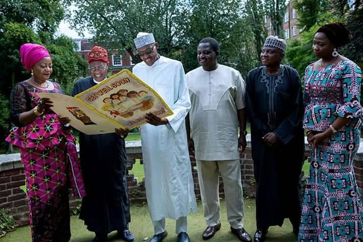 Buhari reassures of his health as he receives Lai, members of his media team