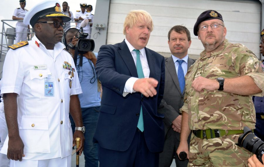 Boris Johnson visits Nigeria; talks military links and more British investment in the country