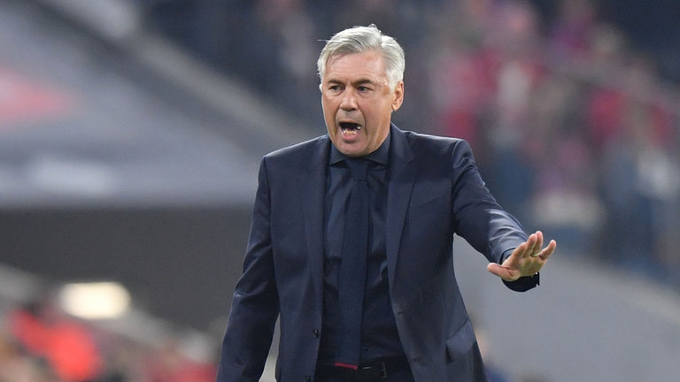 Napoli appoints Ancelotti as coach on three-year deal