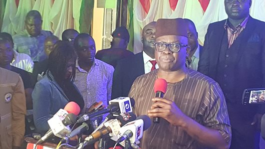 Fayose set to renounce his membership of PDP