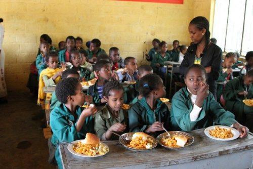 2.9 million children benefit from FG's school feeding programme