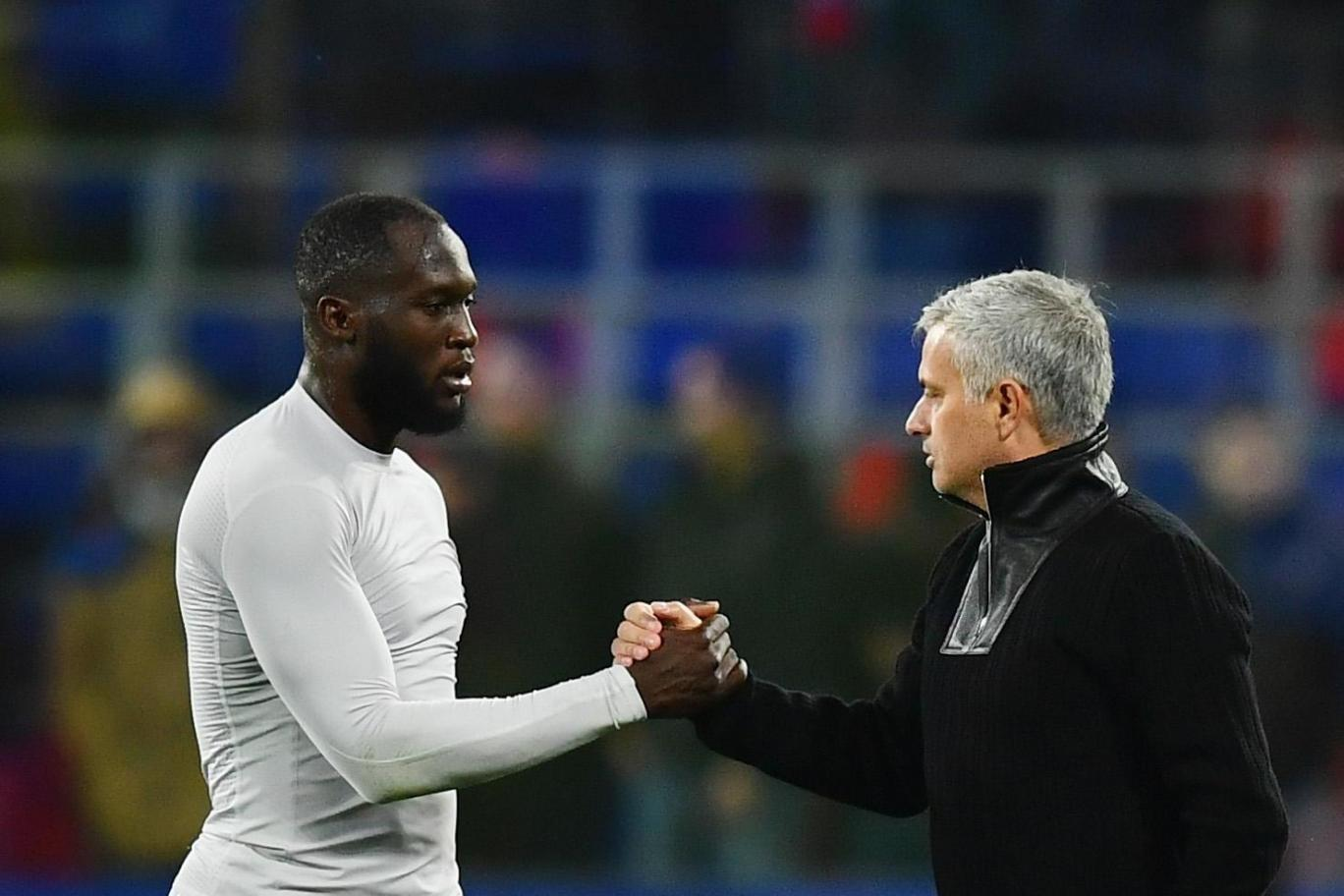 """Mourinho made us humble at half time"" -Lukaku"