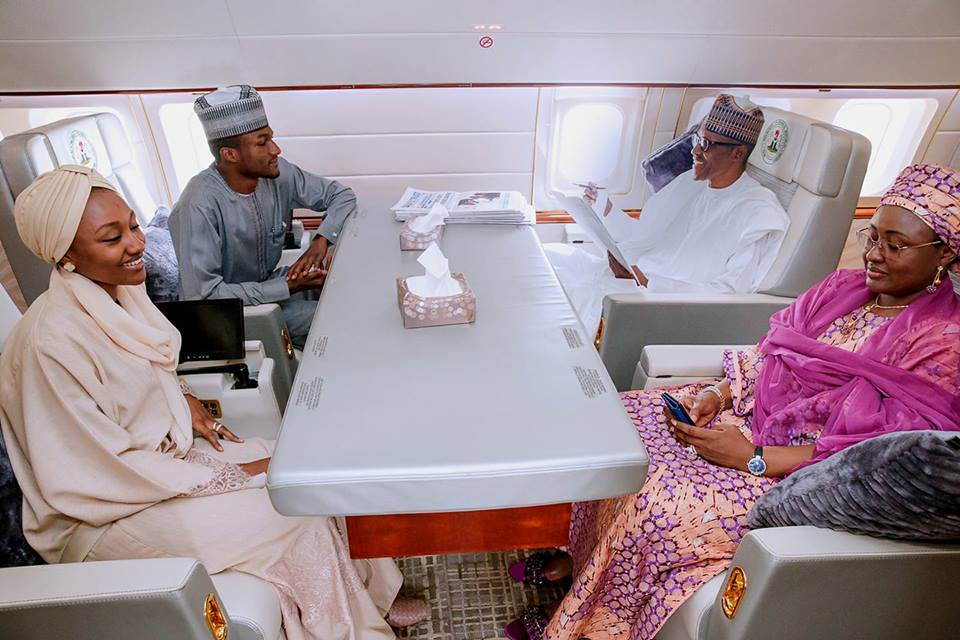 Buhari thanks Nigerians as son leaves hospital