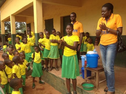 FG introduces mid-day hand washing in schools