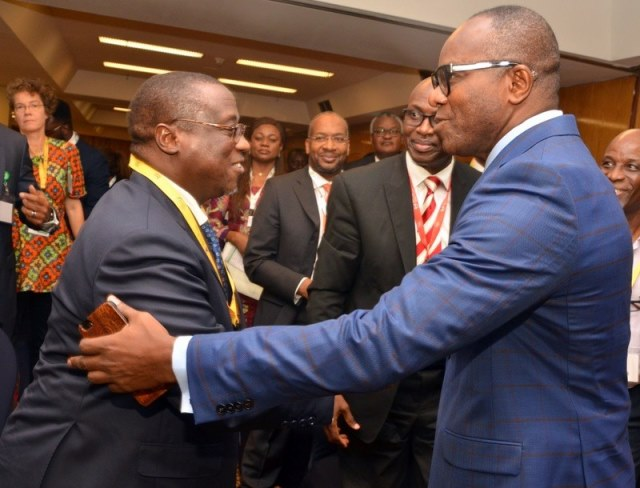 PHOTOS: Kachikwu, Baru meet, agree on stronger oil sector regulation