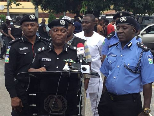 Lagos police dismiss three policemen for shooting some youths
