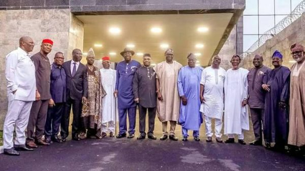 Southern governors call for true federalism