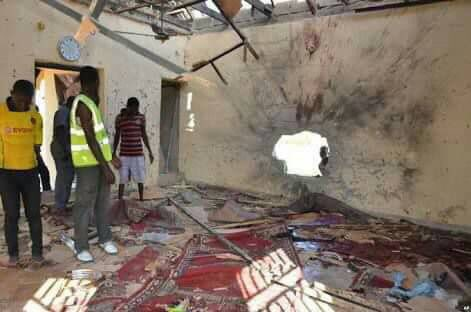 Suicide bomber attacks Moque, kills self, father and other worshipers